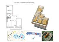 Трехкомнатные квартиры в «Кантемировский»