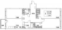 Трехкомнатные квартиры в «Life Приморский»