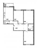 Трехкомнатные квартиры в «Невская Звезда»