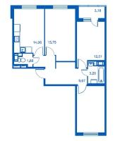 Трехкомнатные квартиры в «Новый Петергоф»