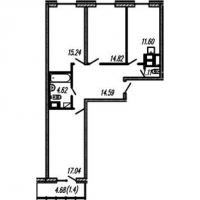 Трехкомнатные квартиры в «Огни Залива»
