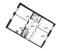 Трехкомнатные квартиры в «Петр Великий и Екатерина Великая»
