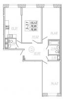 Трехкомнатные квартиры в «Подкова»
