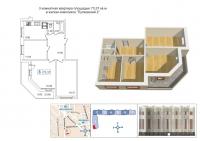 Трехкомнатные квартиры в «Пулковский-2»