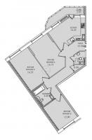 Трехкомнатные квартиры в «Северная долина»