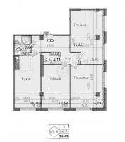 Трехкомнатные квартиры в «Силы природы»