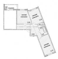 Трехкомнатные квартиры в «Солнечный»