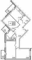 Трехкомнатные квартиры в «Созвездие»