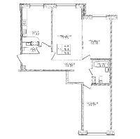 Трехкомнатные квартиры в «Вариант»