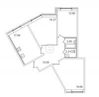Трехкомнатные квартиры в «Весна-3»