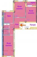 Трехкомнатные квартиры в «Времена Года»