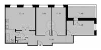 Трехкомнатные квартиры в «Высота»