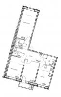 Трехкомнатные квартиры в «Юнтолово»