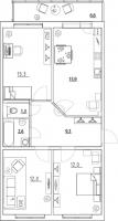 Трехкомнатные квартиры в «Золотые купола»