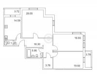 Трехкомнатные квартиры в «Золотой век»