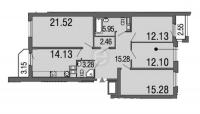 Многокомнатные квартиры в «Дом на набережной»
