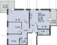 Многокомнатные квартиры в Mistola Hills («Мистола Хиллс»)