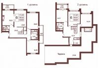 Многокомнатные квартиры в «Московский квартал»