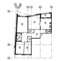 Многокомнатные квартиры в «Самоцветы»