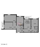 Многокомнатные квартиры в CINEMA («Синема»)