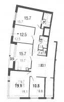 Многокомнатные квартиры в Ultra City («Ультра Сити»)