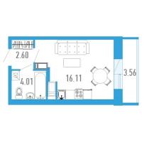 Квартиры-Студии в «Богатырь-3»