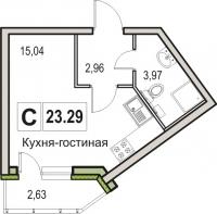 Квартиры-Студии в «Цвета радуги»