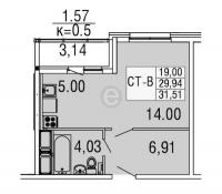 Квартиры-Студии в «Десяткино 2.0»