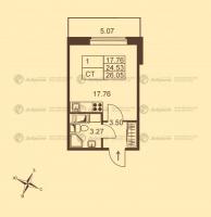 Квартиры-Студии в «Добрыня»