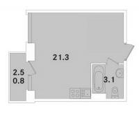 Квартиры-Студии в «ЭкспоГрад»