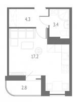 Квартиры-Студии в «Энфилд»