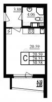 Квартиры-Студии в «Фламинго»