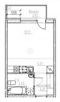 Квартиры-Студии в «Гольфстрим»