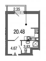 Квартиры-Студии в Green City («Грин сити»)