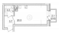Квартиры-Студии в «Итальянский квартал»