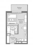 Квартиры-Студии в «Коллонтай,2»