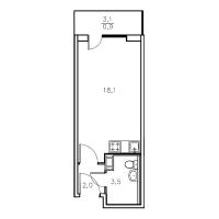 Квартиры-Студии в «Мандарин»
