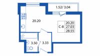 Квартиры-Студии в «Мой город»