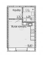 Квартиры-Студии в «Мурино 2017»