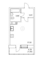Квартиры-Студии в «Муринский Посад»
