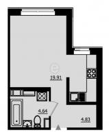Квартиры-Студии в «Образцовый квартал-2»