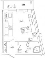 Квартиры-Студии в «Петр Великий и Екатерина Великая»