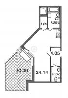 Квартиры-Студии в «Петровская ривьера»