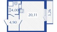 Квартиры-Студии в «Прогресс»