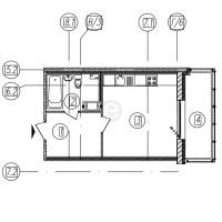 Квартиры-Студии в «Самоцветы»