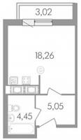 Квартиры-Студии в «Сириус»