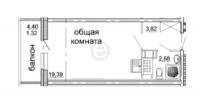 Квартиры-Студии в «Солнечный»