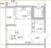 Квартиры-Студии в «Солнечный город»