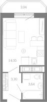 Квартиры-Студии в «Три кита»