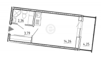 Квартиры-Студии в «Вернисаж»